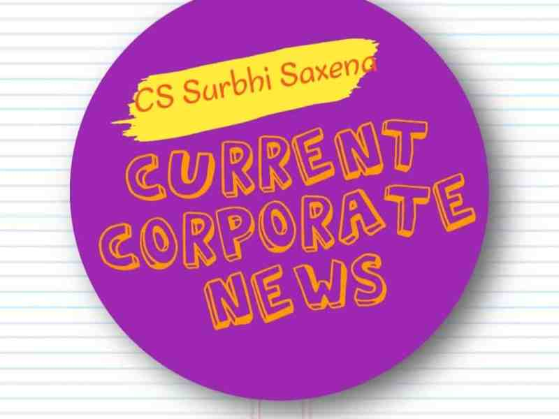 current and corporate news 21 OCTOBER 2020