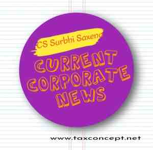Current and Corporate Affairs as on 26 October 2020