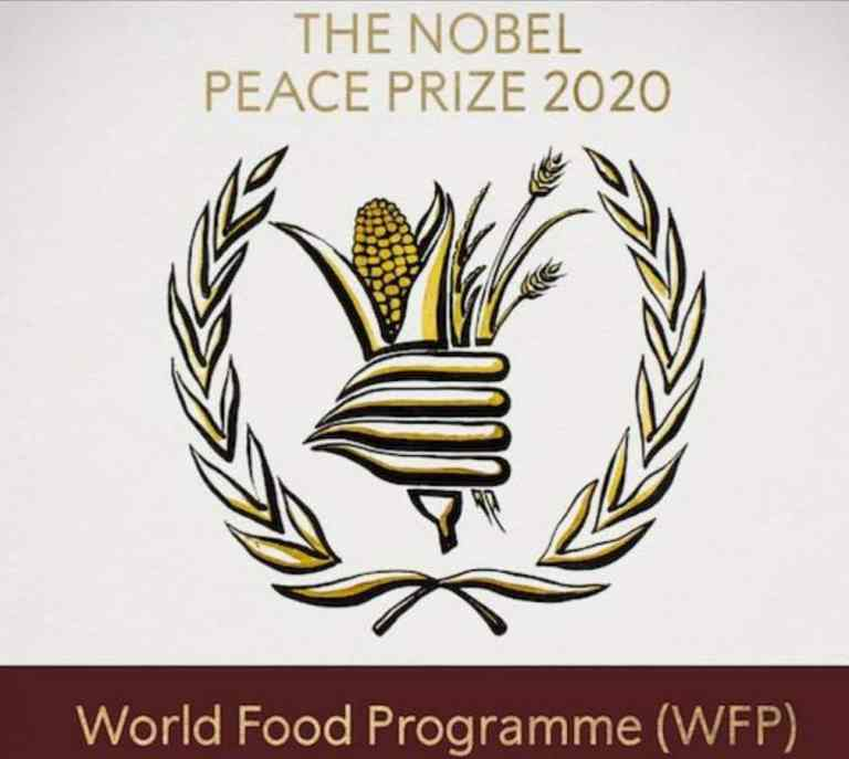 The World Food Programme has won the 2020 Nobel Peace Prize for its efforts to combat hunger and food insecurity around the globe