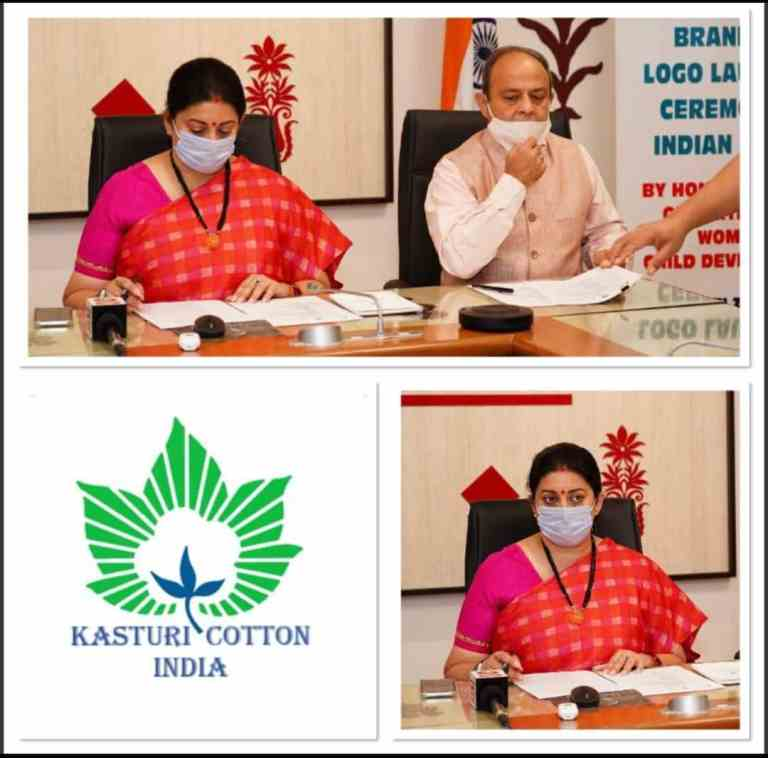 Smriti Irani launches first ever Brand & Logo for Indian Cotton on 2nd World Cotton Day