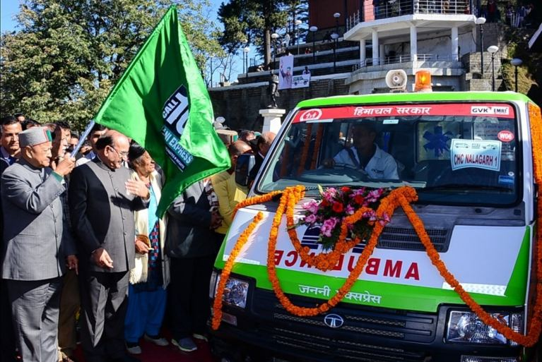 Medical Mobile Unit Jeevan Dhara flagged off by Himachal Pradesh Chief Minister