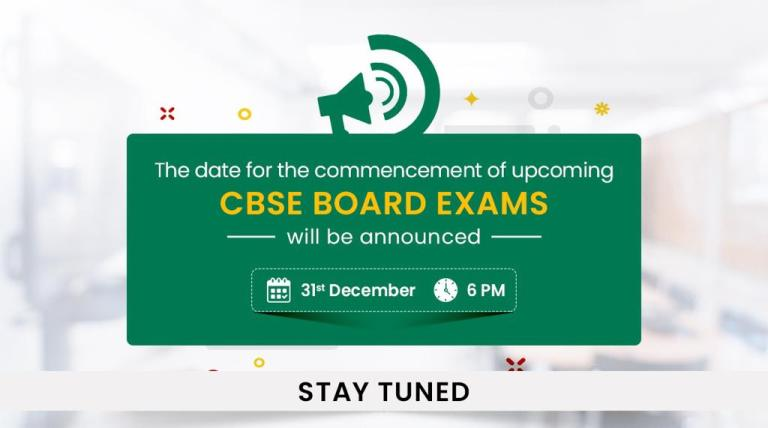 Date for CBSE board examinations to be announced on 31st December