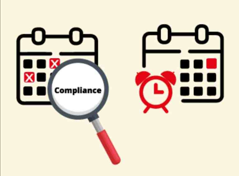 Corporate Compliance Calendar for the Month of December 20