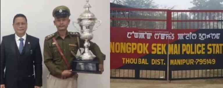 Manipur: Nongpok Sekmai police station chosen as best performing Police Station in country