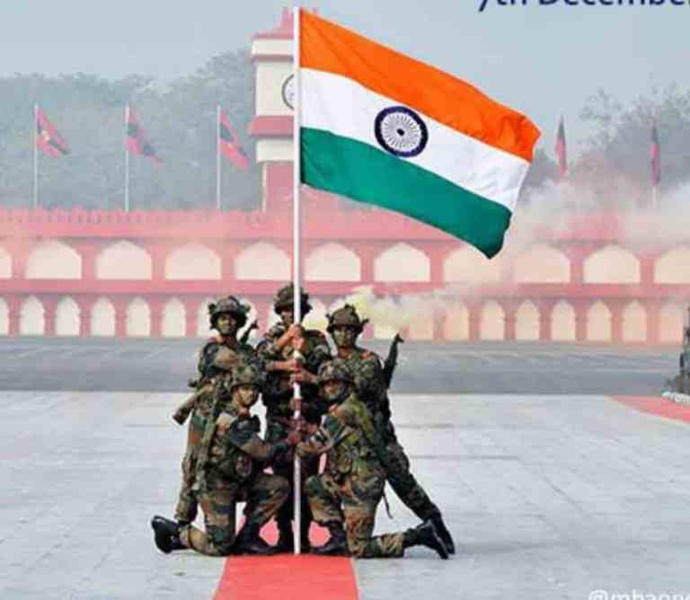 Armed Forces Flag Day celebrated