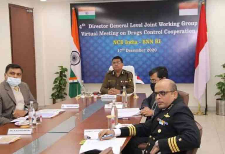 NCB India and National Narcotics Board BNN, Indonesia conduct 4th Bilateral Joint Working Group meeting