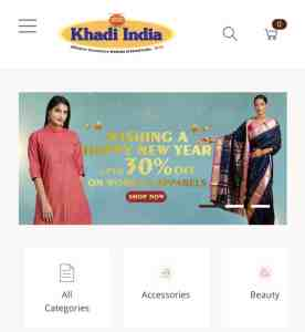 Khadi and Village Industries Commission (KVIC) has launched a portal for the sale of its products