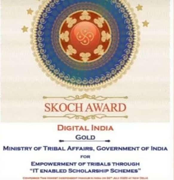 Tribal Affairs Minister Arjun Munda to receive SKOCH Challenger Award