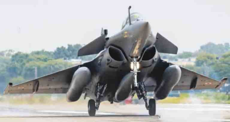 Three more Rafale fighter jets  added in Indian Air Force