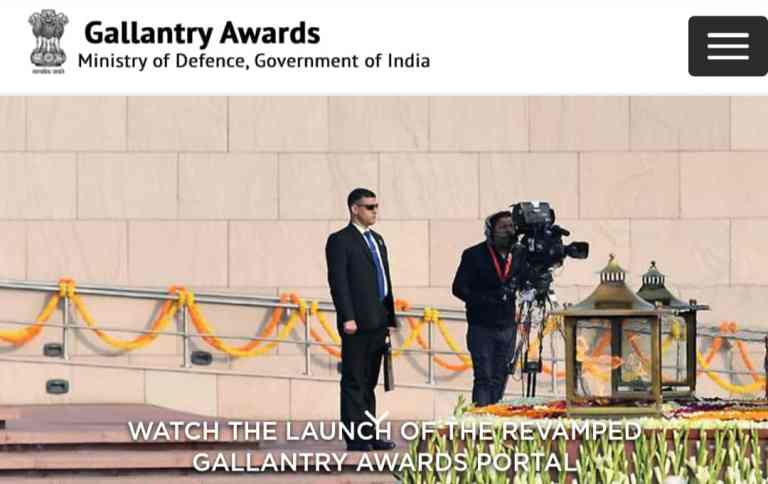 Revamped version of Gallantry Awards Portal launched
