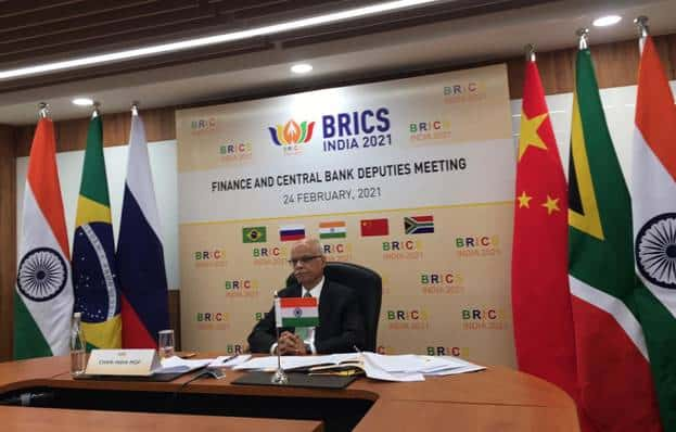 Proud: India Shared Some Priorities Under Financial Co-operation Agenda in a Meeting with BRICS Finance and Central Bank Deputies