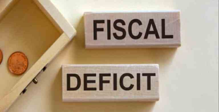 Fiscal deficit pegged at 6.8 percent of GDP for Financial Year