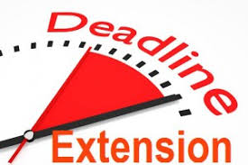 Taxation Due Dates Extended under Income Tax (Penalty & Assessment / Re-assessment) and Benami Act