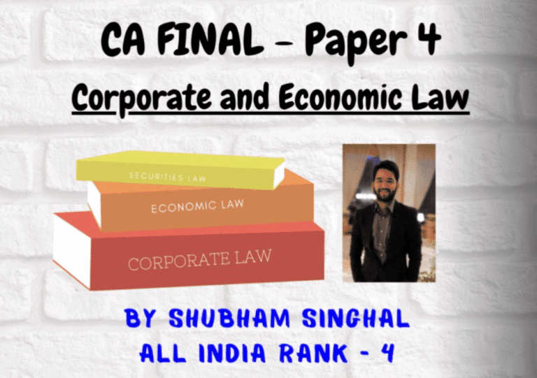 Online Classes Provided by All India Rank Chartered Accountant at Very Low Cost
