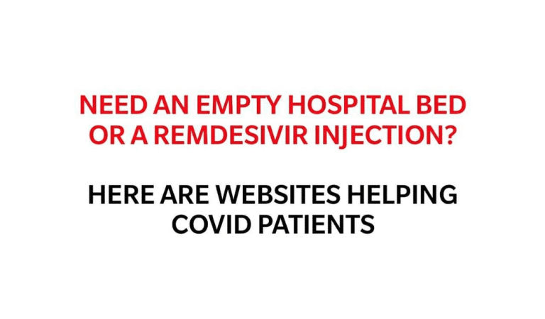 Need an Empty Hospital Bed or a Ramdesivir Injection? Here are Websites Helping Covid Patients. Spread the Message