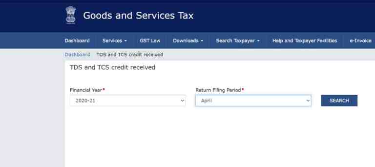 Taxpayers are Not Able to View/ File TDS/ TCS Returns for FY 2020-21 on GSTN Portal