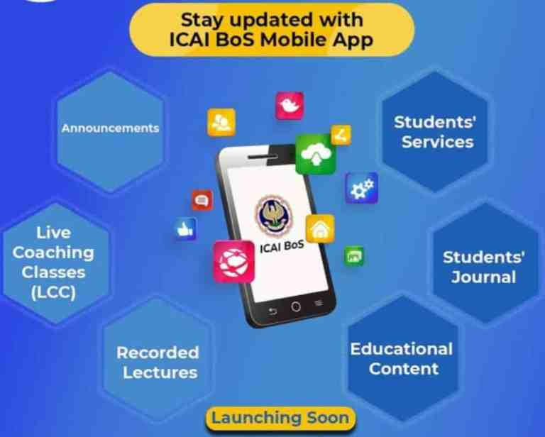 Launch the ICAI-BOS Mobile App