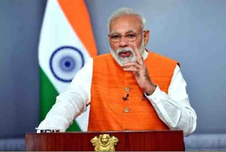 Prime Minister Narendra Modi will address the nation at 5 pm today, Prime Minister's Office tweeted information