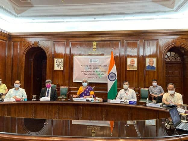 Union Finance Minister addresses US-India Strategic Partnership Forum (USISPF) Board of Directors Investment Roundtable