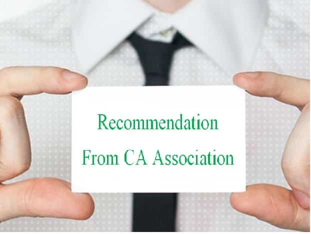 Recommendation from CA Association(Surat) to intervene and simply re-activate the previous IT Portal