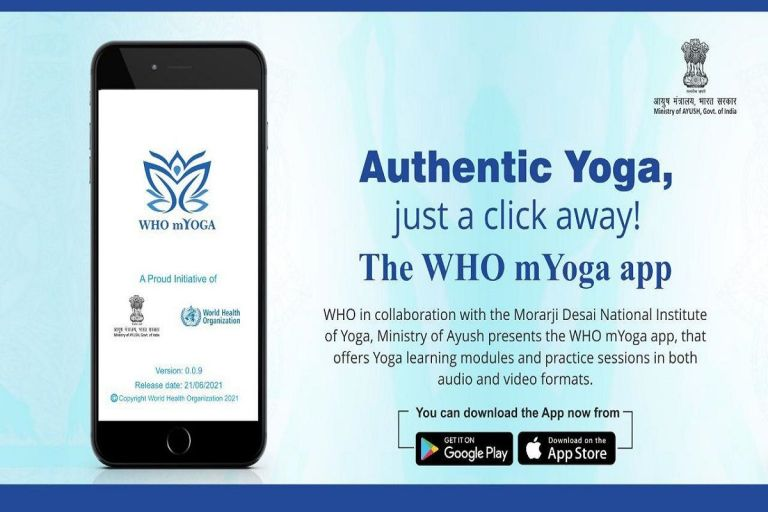 Prime Minister launches WHO-M-Yoga App [Install App]
