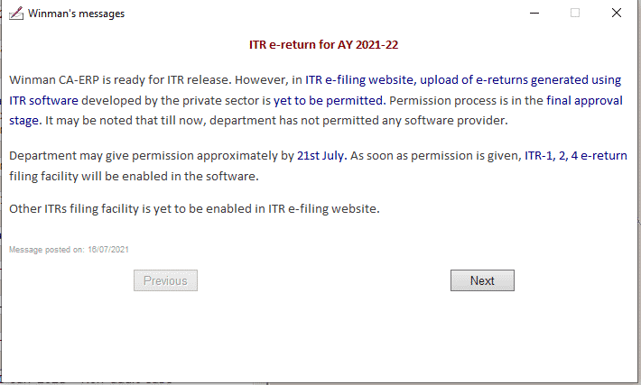 Big Issue! Infosys has not Yet Provided Access to Software Providers Where Lakhs of ITRs are Ready to File