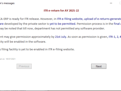 Big Issue! Infosys has not Provided Access to Software Providers Where Lakhs of Returns are Ready to File