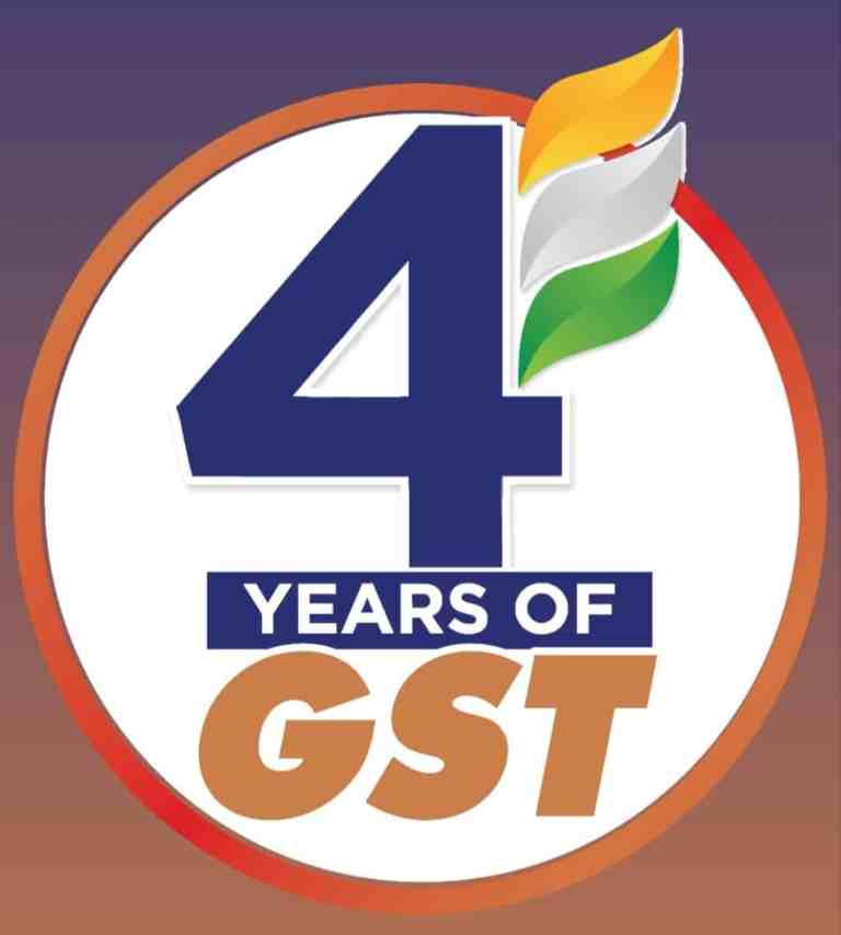 CBIC greets all taxpayers on the 4th anniversary of GST