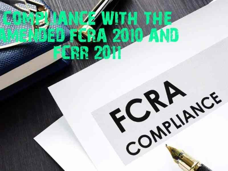 FCRA COMPLIANCES