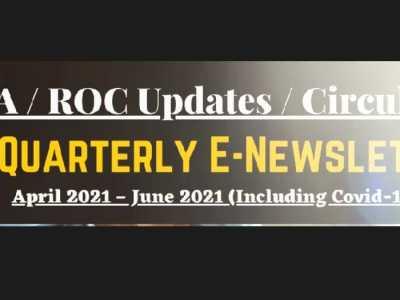 MCA / ROC Updates / Circulars