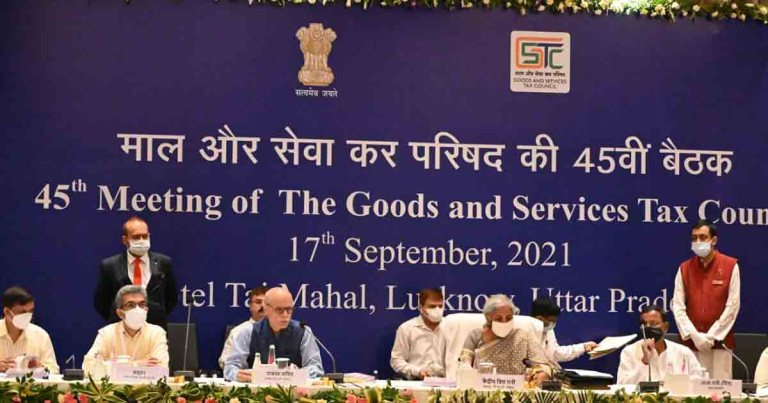 Must read -Official PRESS RELEASE on 45th Meeting of the GST Council at Lucknow