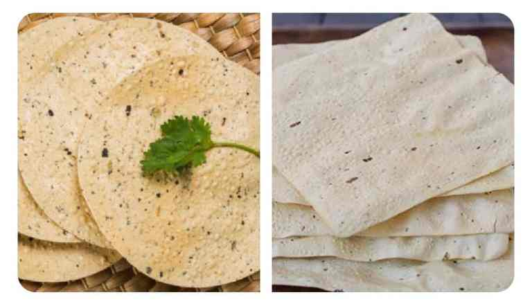 Whether Round Papad or Square Papad, Both are Exempted from GST: CBIC