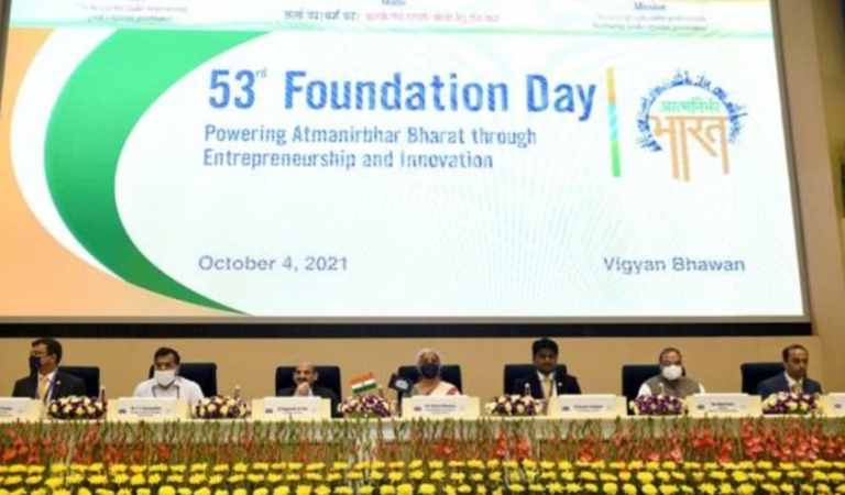 Finance Minister Smt. Nirmala Sitharaman celebrates 53rd Foundation Day of the ICSI