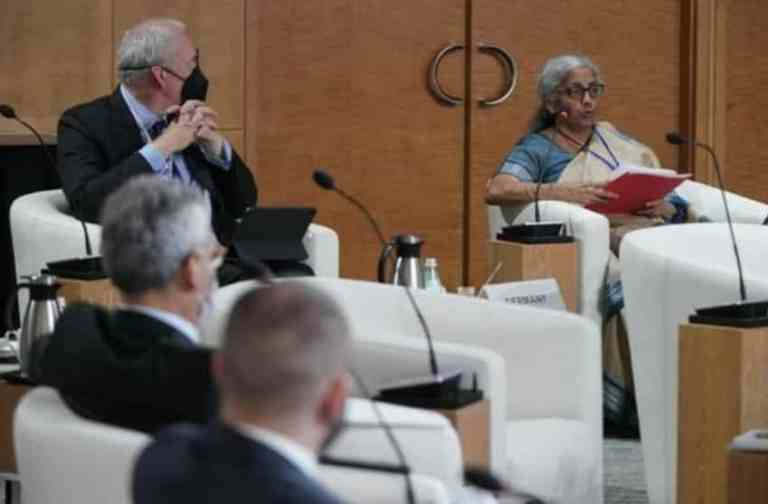 Finance Minister Smt. Nirmala Sitharaman attends 4th G20 Finance Ministers and Central Bank Governors (FMCBG) Meeting in Washington D.C.