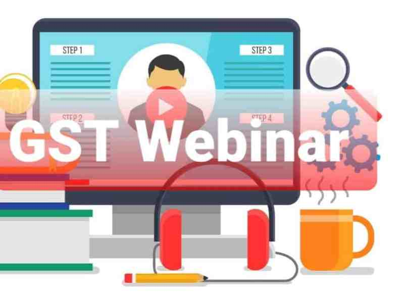 Webinars on some important features of GSTR-2B.