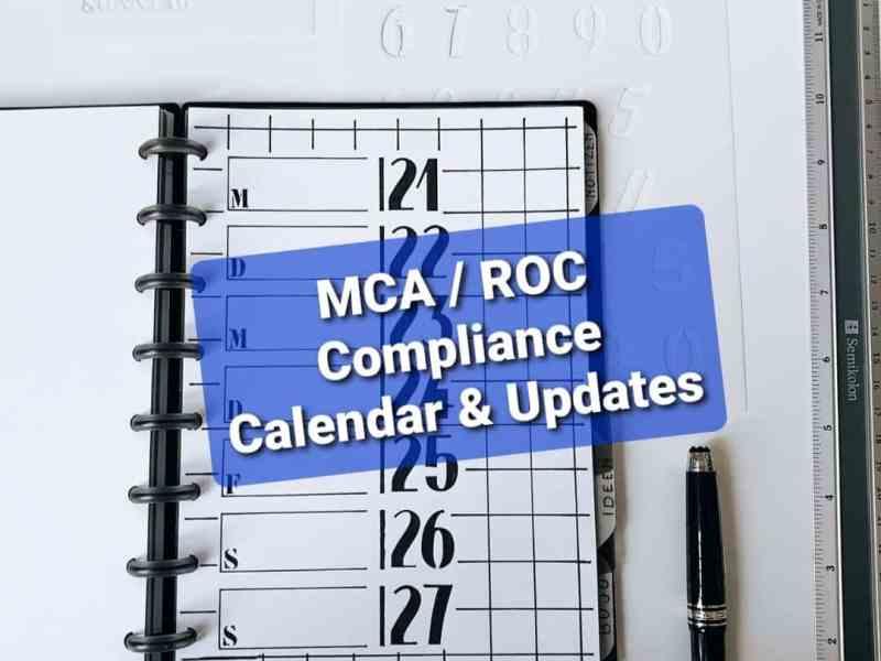 ROC Compliance Calendar 2021