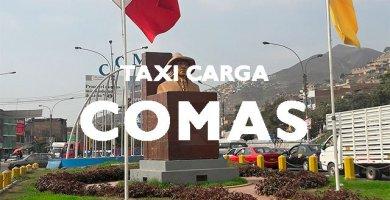 Minimudanza taxi carga comas