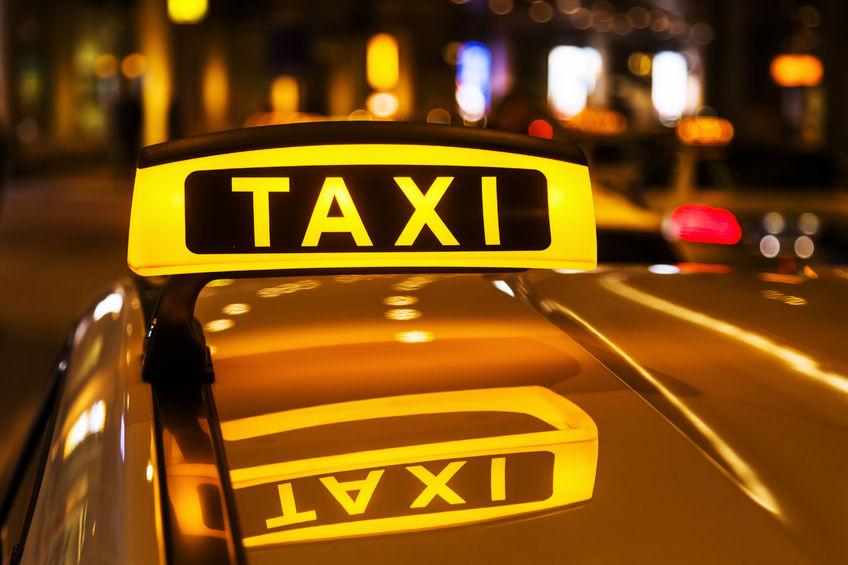 Taxi Service Geißler - Slider Schild