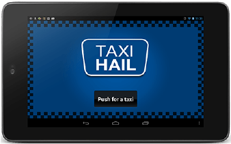 Optional TaxiHail Kiosk
