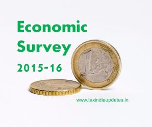 Economic Survey 2015-16
