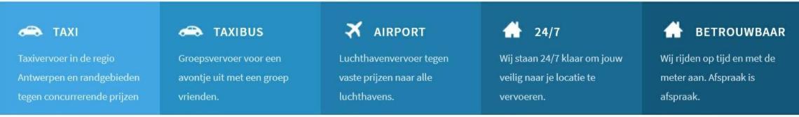 Taxi Antwerpen naar Genk