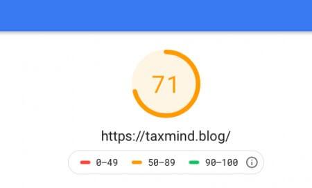 グーグルコンソールスピード