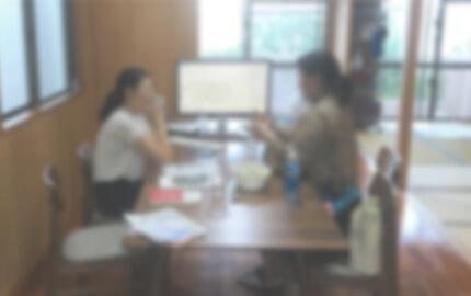 沖縄にある西里税理士事務所の雰囲気