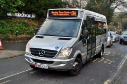 A Mercedes Sprinter 45 minibus