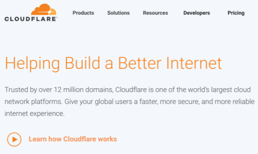 how to create a blog in wordpress cloudflare