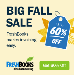 freshbooks sale