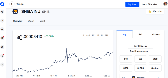 How to Buy Shiba Inu Coin on Coinbase 2