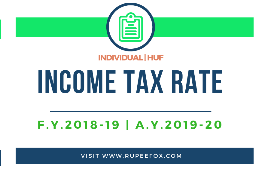 income tax slab rate for individual
