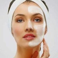 Detox Facial, 1 mulher, rosto com creme, clínica de estética, tay akemi