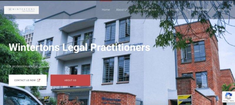 Wintertons Law Firm Website Designed By Tay Digital